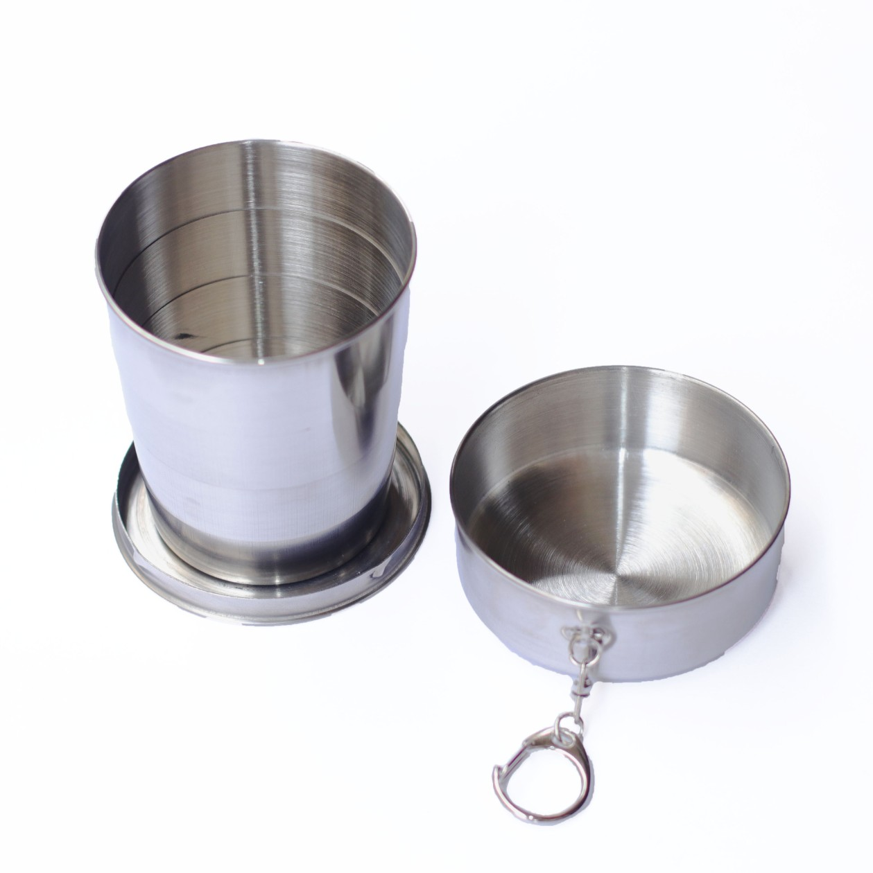 Collapsible Steel Tumbler