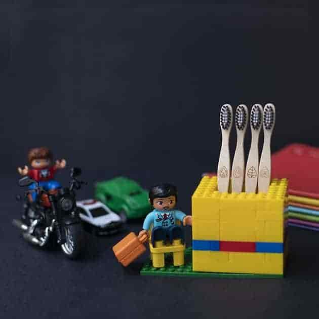 Bamboo Tooth Brush - Kids