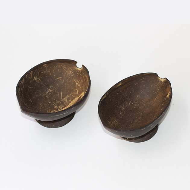 Revive Oval Coconut Diwali Candle Bowl