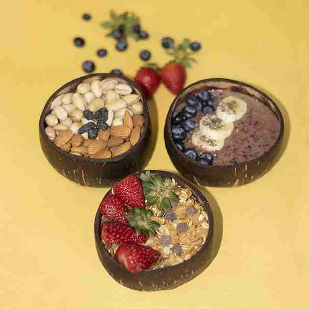 Natural Polish Coconut Bowl